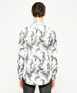 FEATHER VELOR SHIRT