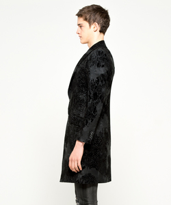 CLOUD FLOCKING LONG JACKET