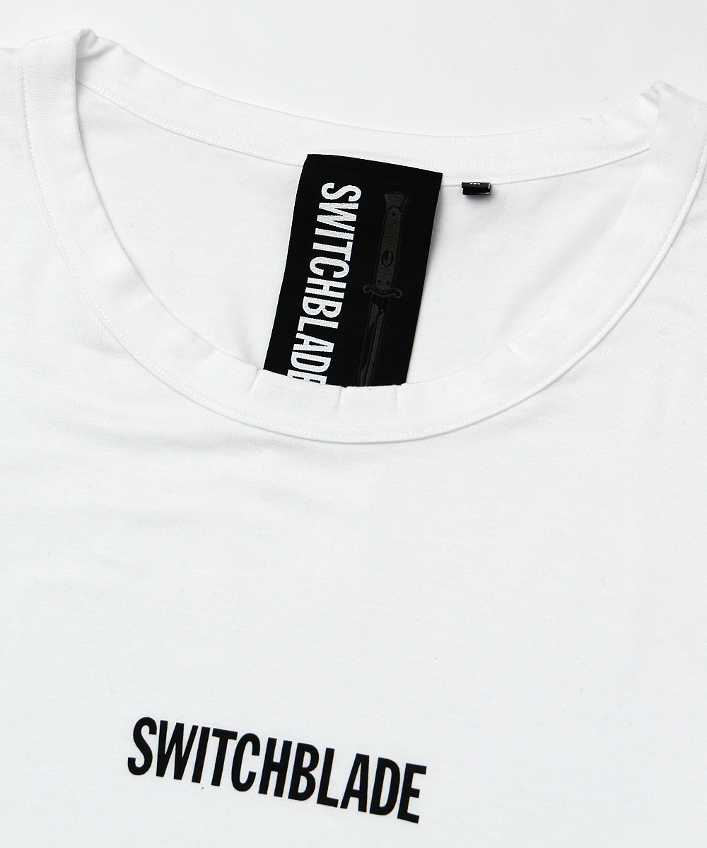 SWITCHBLADE LOGO TEE[WHITE]