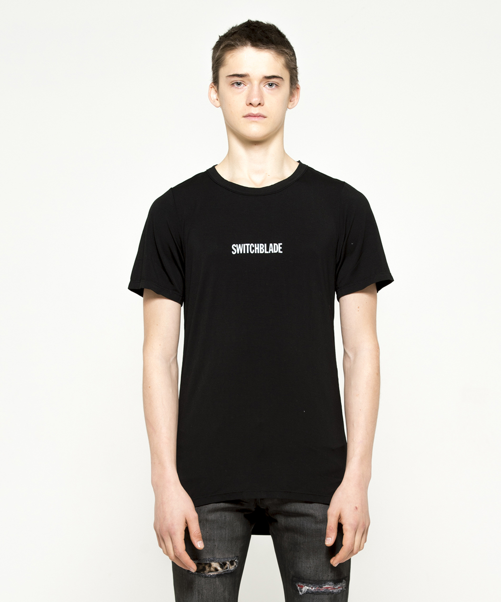 SWITCHBLADE LOGO TEE[BLACK]
