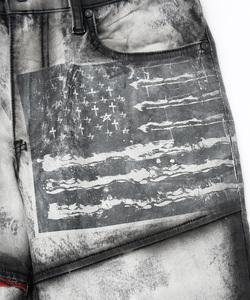 BANDANA FLAG REMAKE DUSTY PT [WHITE]