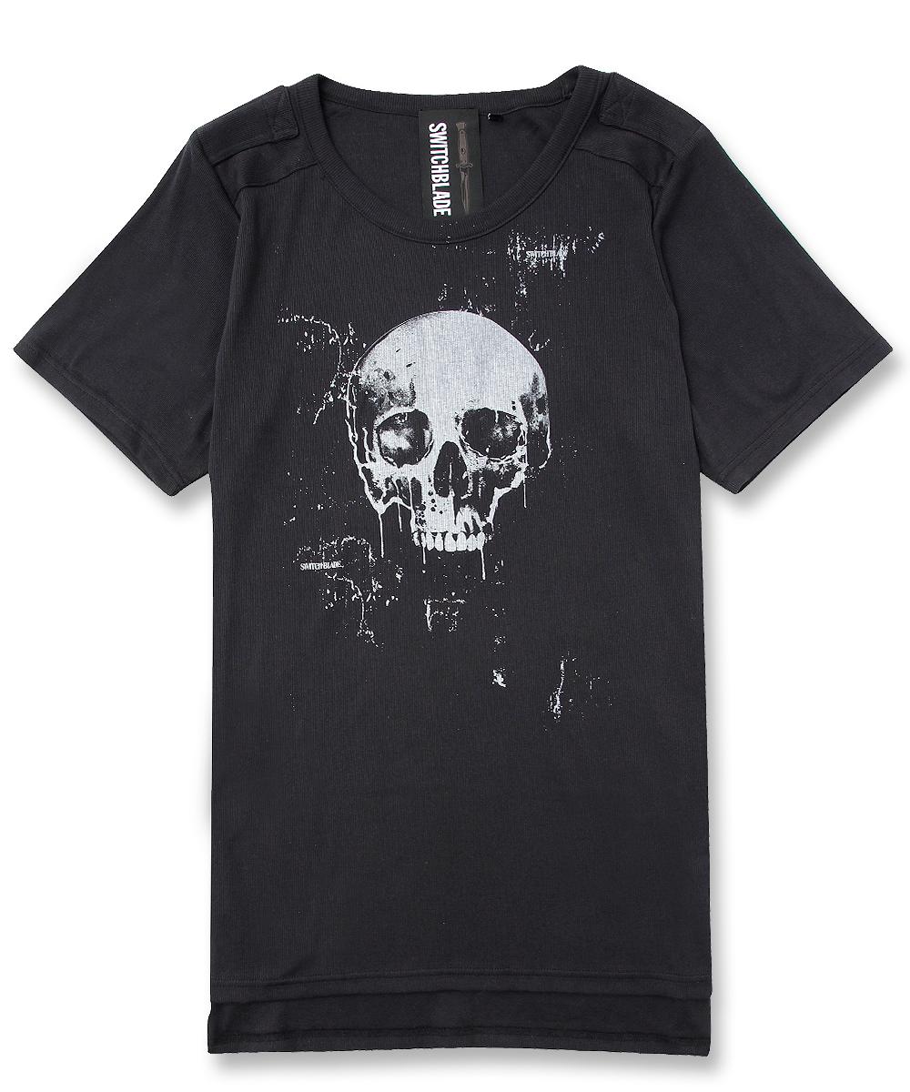 SKULL TEE [BLACK]