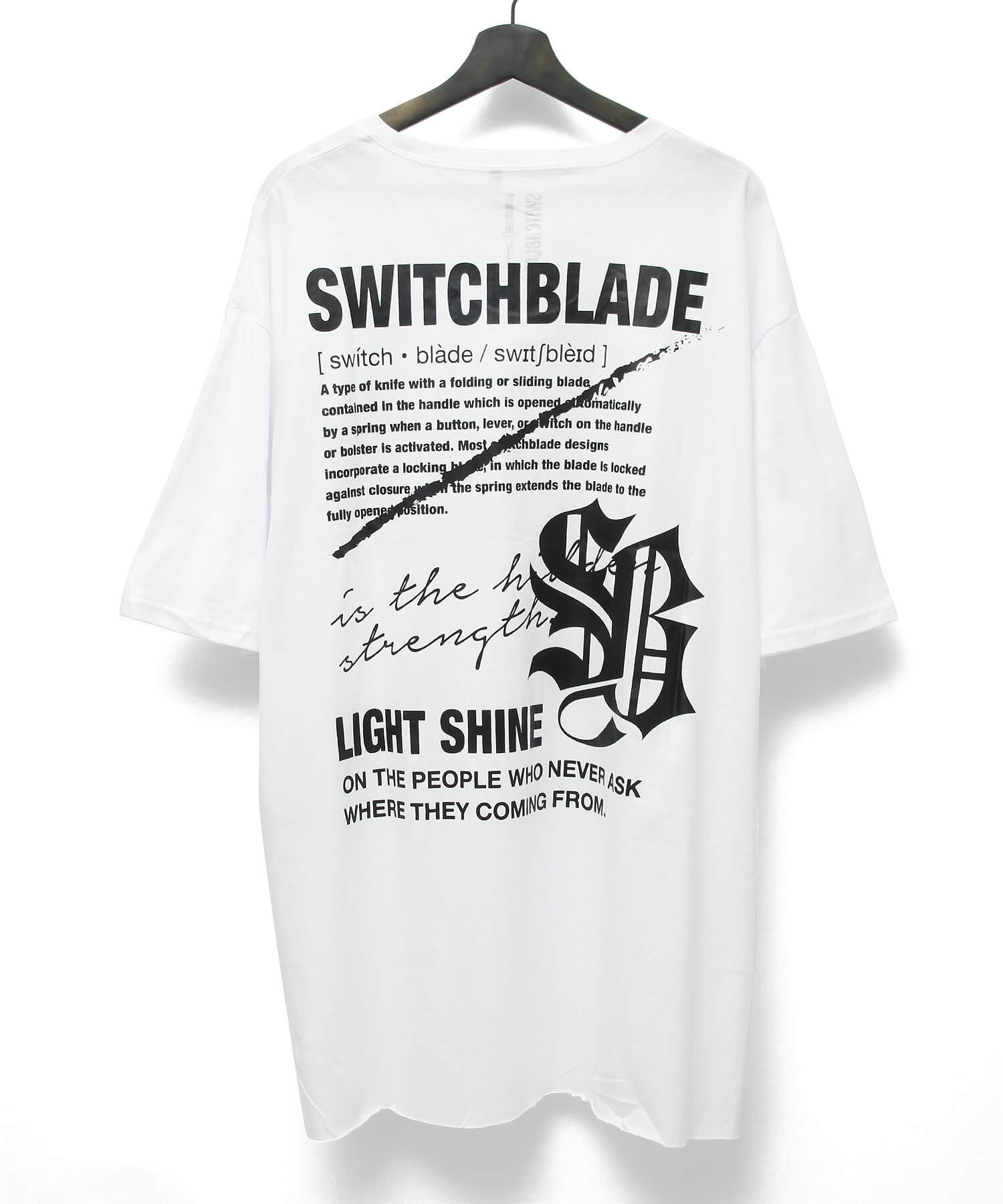 LIGHT SHINE TEE [WHITE]