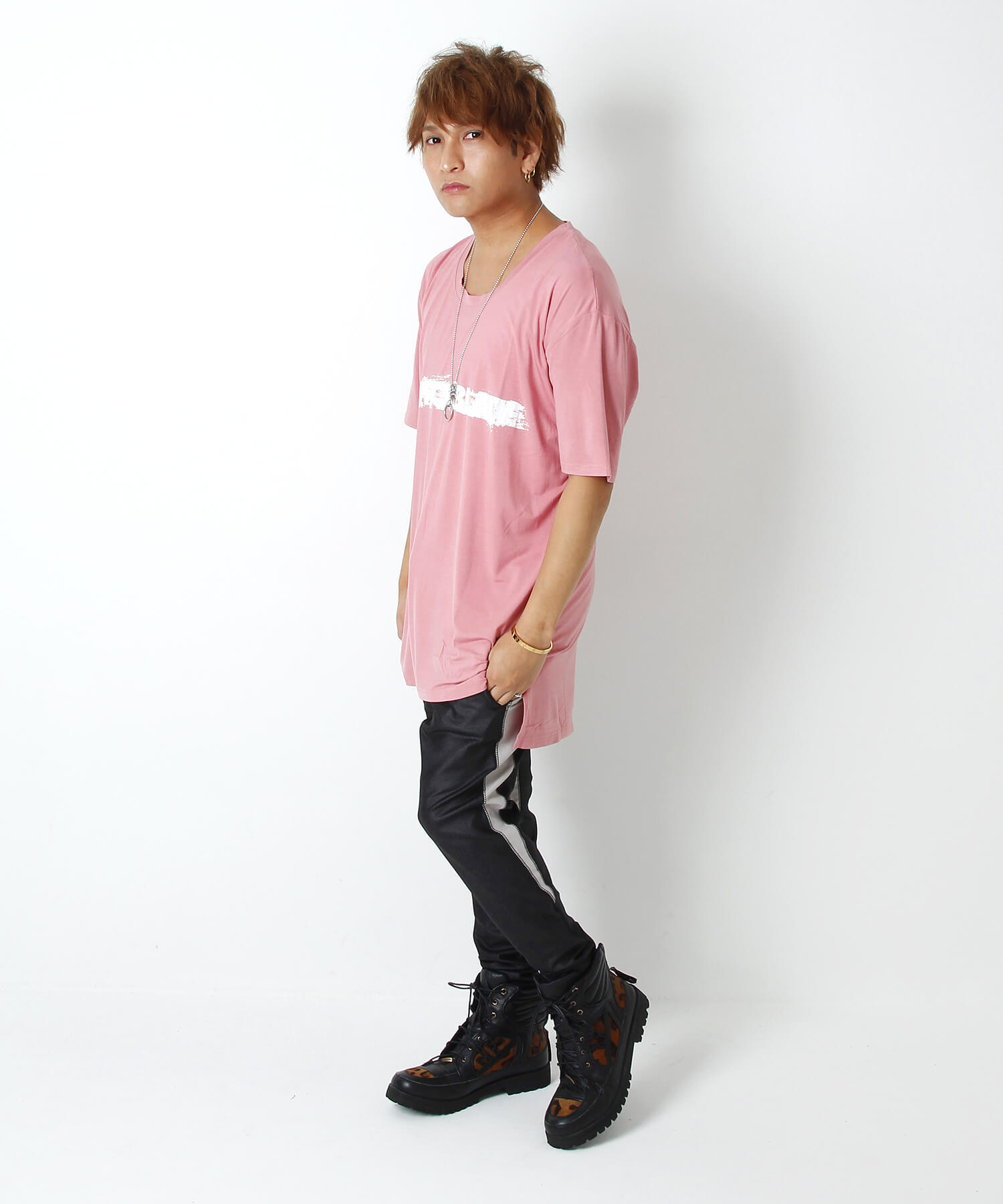 KEEP A KNIFE TEE [SMOKE PINK]