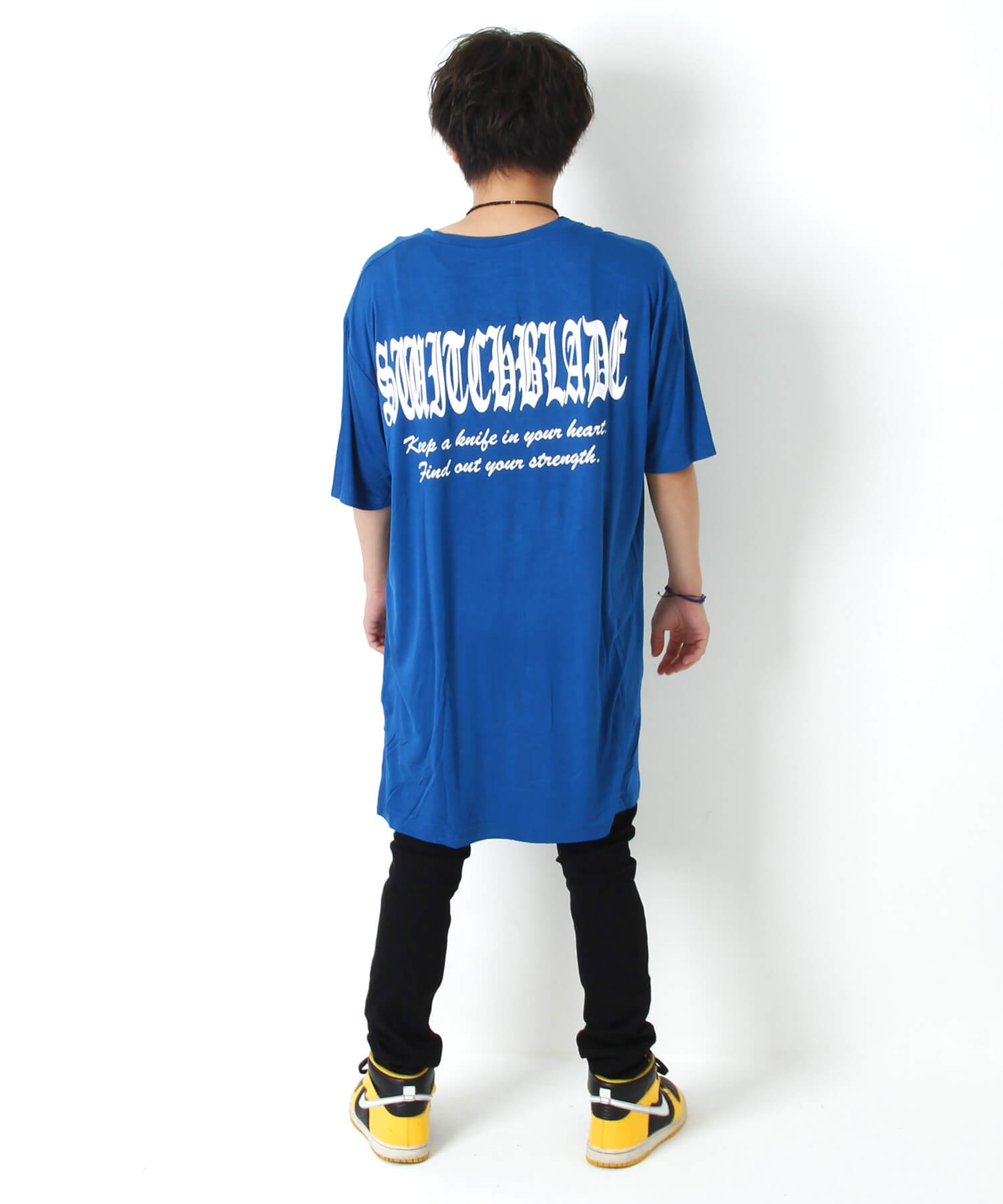KEEP A KNIFE TEE [BLUE]