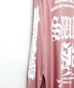 SWBL RAGLAN SLEEVE TEE [SMOKE PINK]
