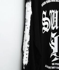 SWBL RAGLAN SLEEVE TEE [BLACK]