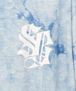 LIGHT SHINE DYEING TEE [BLUE]