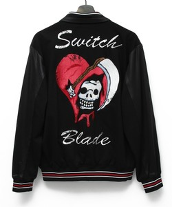 HEART SKULL BLOUZON [BLACK]