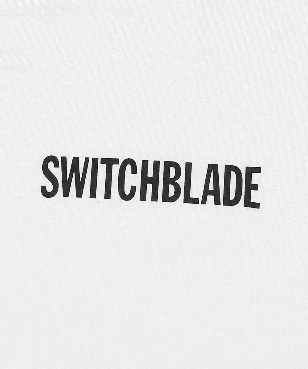 SWITCHBLADE LOGO TEE[WHITE]
