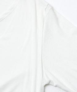 BACK NECK PRINT LAYERED L/TEE [WHITE]