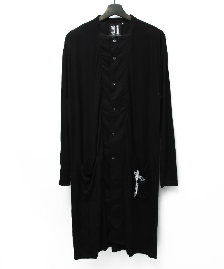 SWBL LONG CARDIGAN [BLACK]