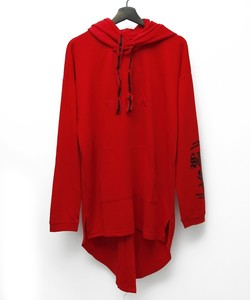SWBL PULLOVER LONG PARKA [RED]