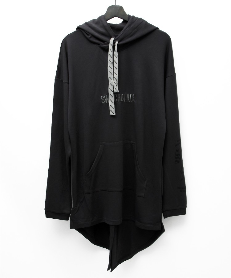 SWBL PULLOVER LONG PARKA [GRAY]