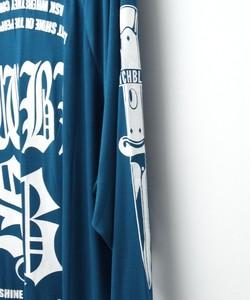 SWBL RAGLAN SLEEVE TEE [BLUE]