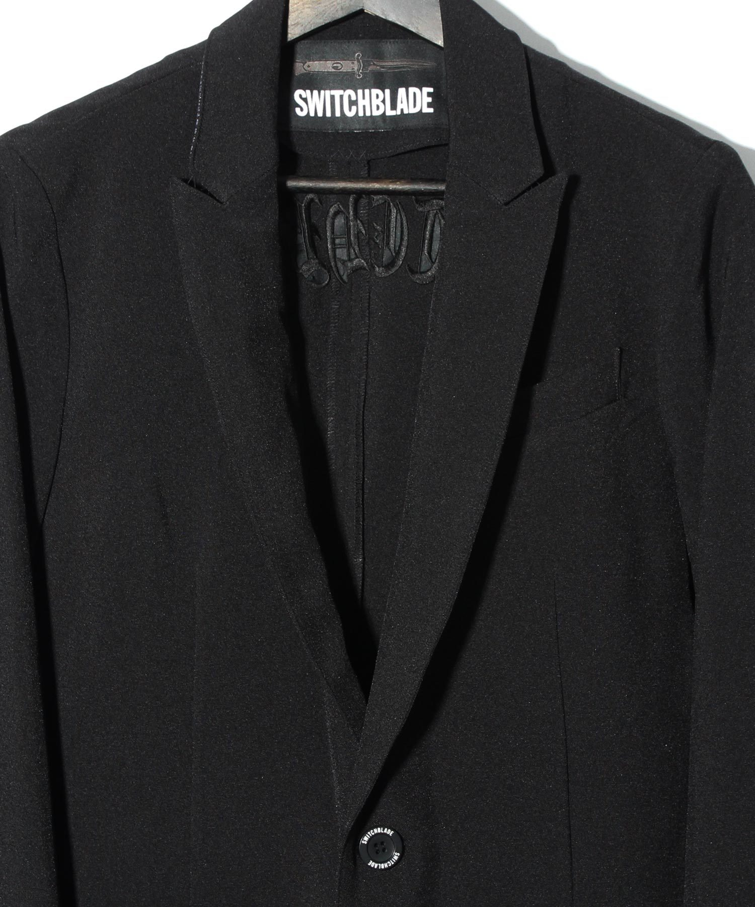 EMBROIDERY EASY JACKET [BLACK]