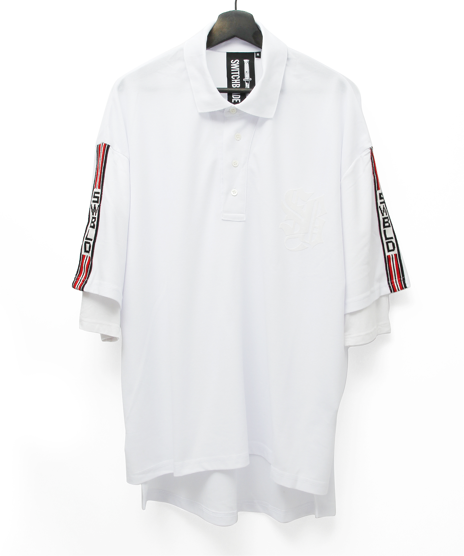 SWBLD LINE POLO SHIRT [WHITE]