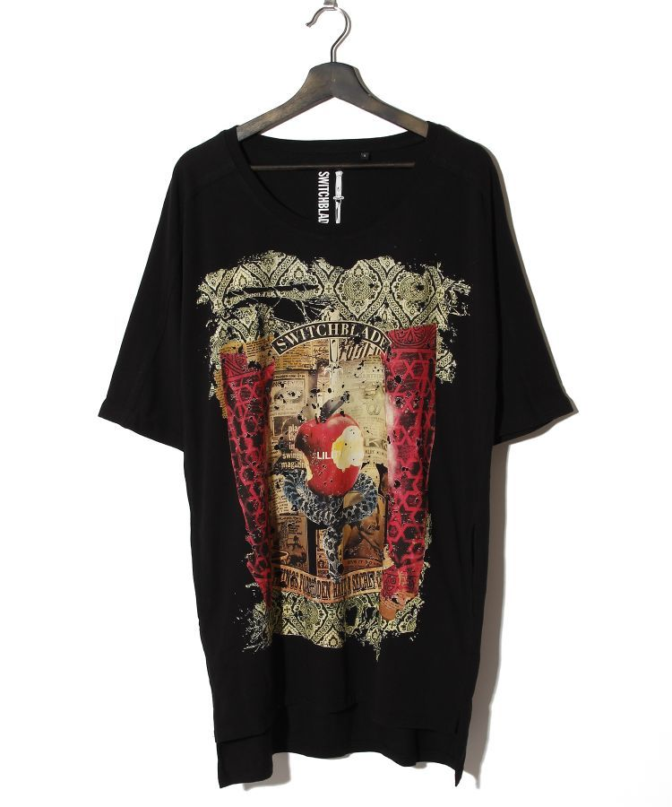 FORBIDDEN FRUIT DOLMAN SLEEVE TEE