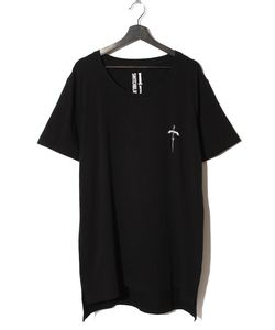 ARCH LOGO KNIFE TEE(BLACK)