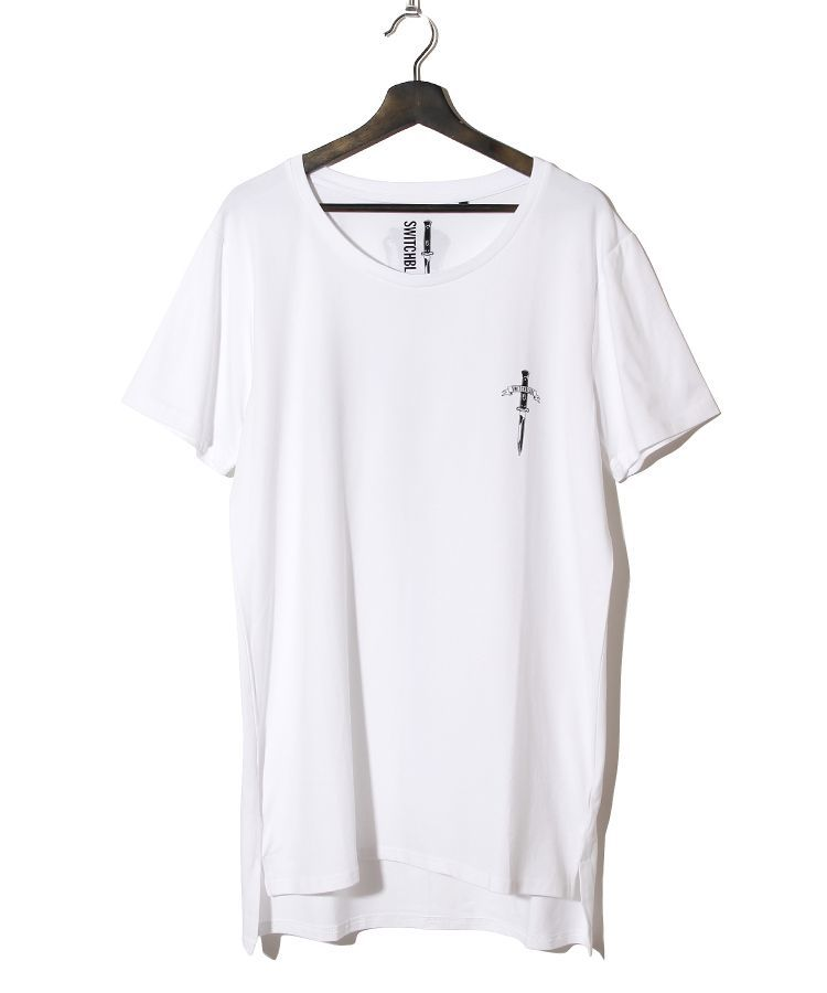 ARCH LOGO KNIFE TEE(WHITE)