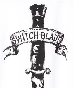 ARCH LOGO KNIFE TEE(WHITE)