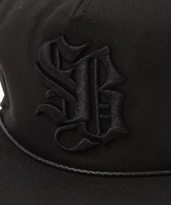 SB LOGO CAP(BLACKxBLACK)