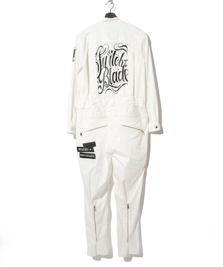 【完全限定生産】SWITCHBLADE JUMPSUIT(WHITE)