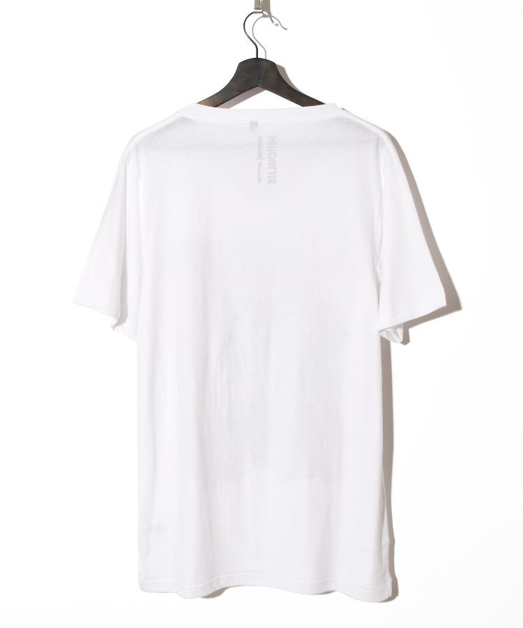 PRAYING HANDS V-TEE(WHITE)