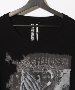 PRAYING HANDS C-TEE(BLACK)