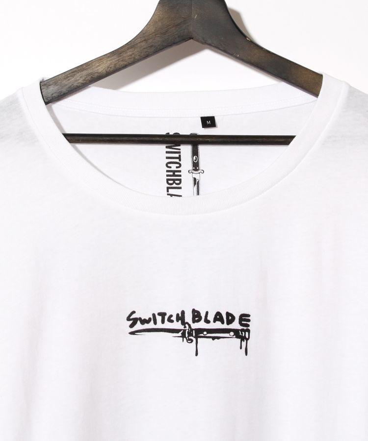 SKULL GRAFFITI TEE(WHITE)