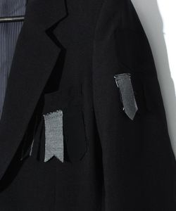 3B PATCHWORK CROSS COAT JK