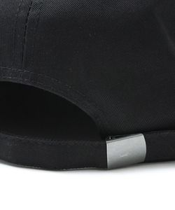 SB SPRAY LOGO CAP(BLACKxBLACK)