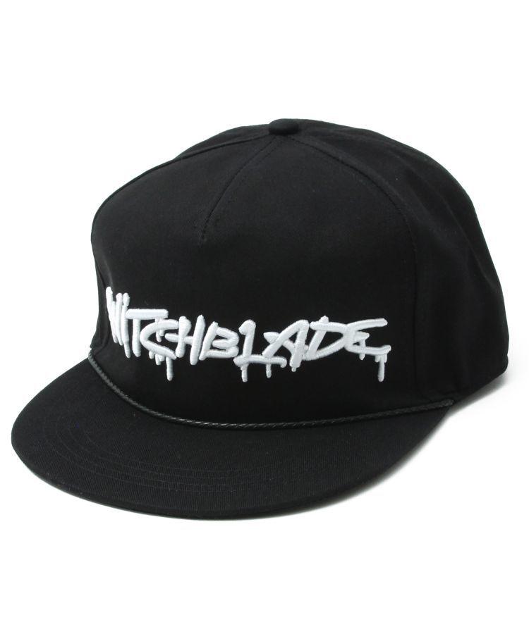 SB SPRAY LOGO CAP(BLACKxWHITE)