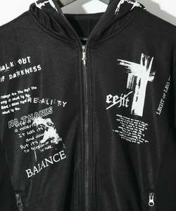 GRAPHICS LONG PARKA