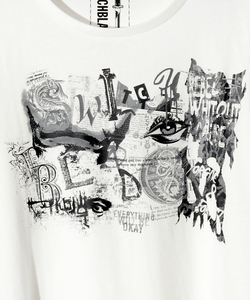 SWITCHBLADE COLLAGE TEE