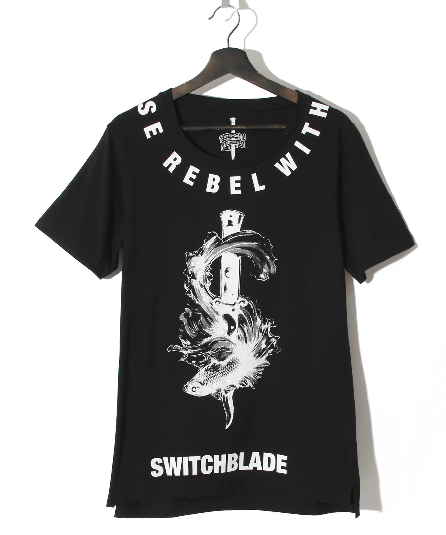 hyde x SWITCHBLADE RUMBLE FISH TEE