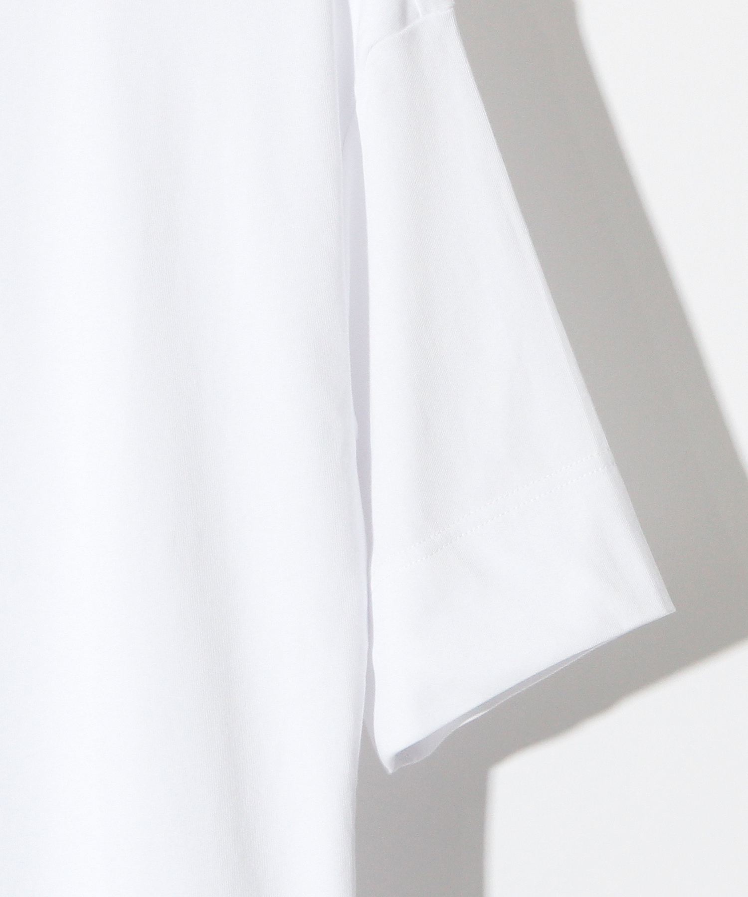 H.K.M.H LAYERED TEE  [WHITE]