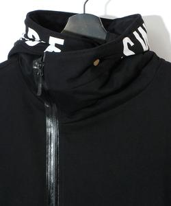 H.K.M.H WRAP PARKA [BLACK]
